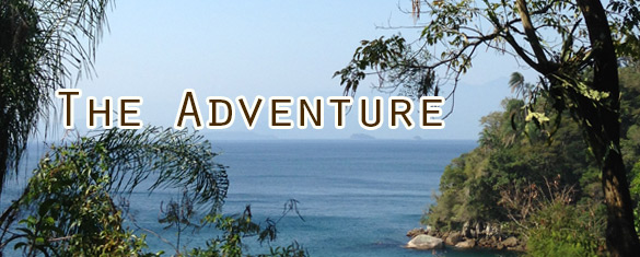 Adventure on Ilha Grande